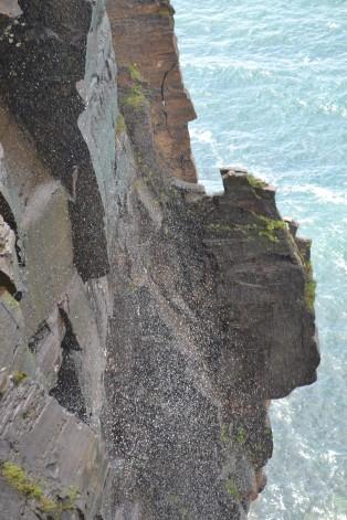 cliff hike falls spray