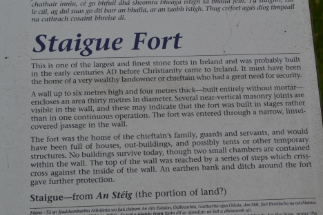 staigue fort sign