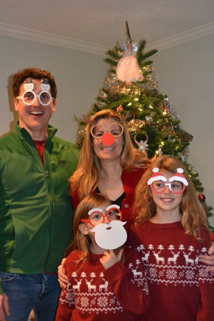 Our silly Hudnut Family
