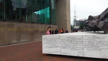 9-11 Memorial at World Trade Center Baltimore